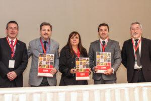 Representantes de NG-Seeds, EWOS, La Voz del Campo y CGNA.